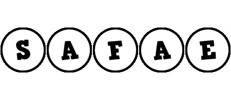 Safae handy logo