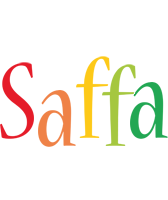 Saffa birthday logo