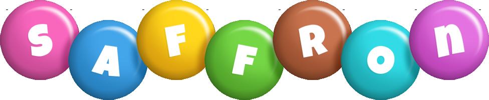 Saffron candy logo