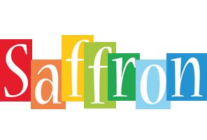 Saffron colors logo