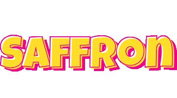 Saffron kaboom logo