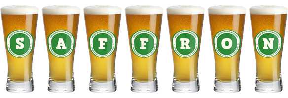 Saffron lager logo