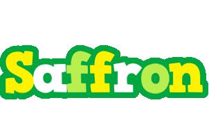 Saffron soccer logo