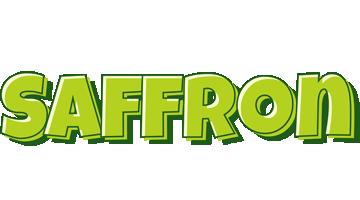 Saffron summer logo