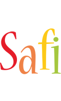 Safi birthday logo