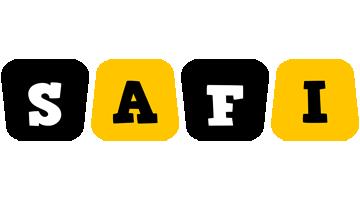 Safi boots logo