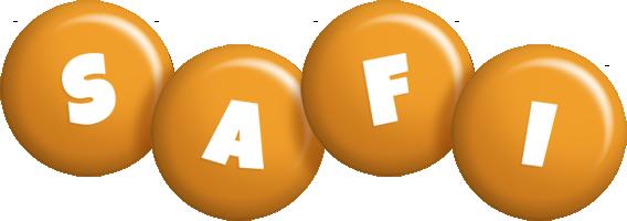Safi candy-orange logo