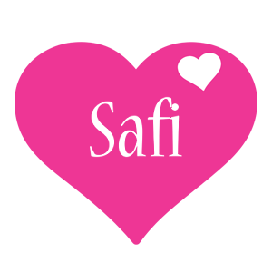Safi love-heart logo