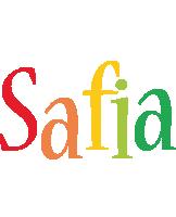 Safia birthday logo