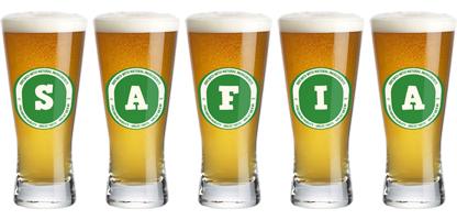 Safia lager logo