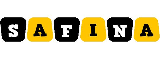 Safina boots logo