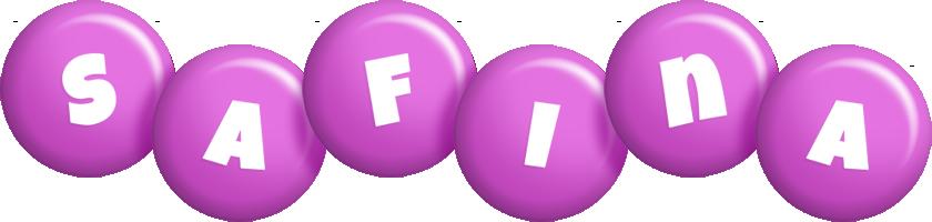 Safina candy-purple logo