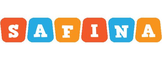 Safina comics logo