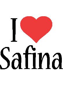 Safina i-love logo