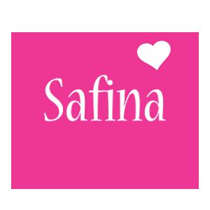 Safina love-heart logo