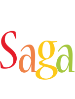 Saga birthday logo