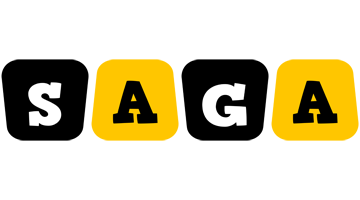 Saga boots logo