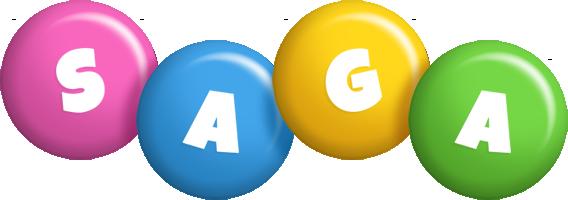 Saga candy logo