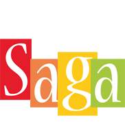 Saga colors logo