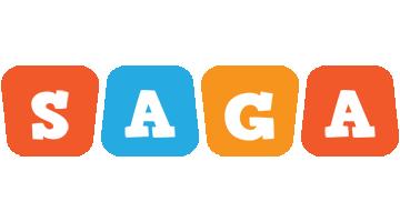 Saga comics logo