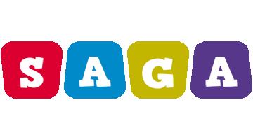 Saga daycare logo