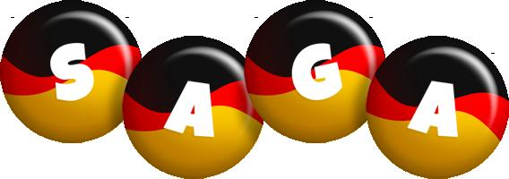 Saga german logo