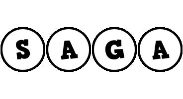 Saga handy logo