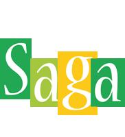 Saga lemonade logo