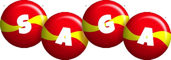 Saga spain logo