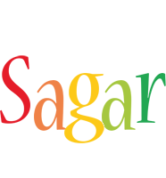 Sagar birthday logo