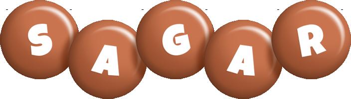 Sagar candy-brown logo