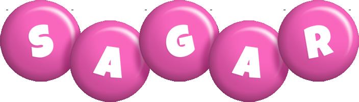Sagar candy-pink logo