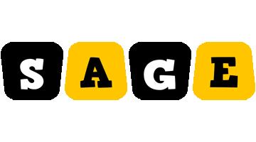 Sage boots logo