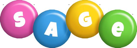 Sage candy logo