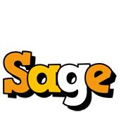 Sage cartoon logo