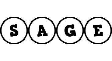Sage handy logo