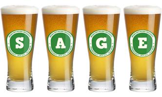 Sage lager logo