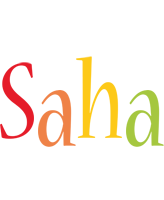 Saha birthday logo