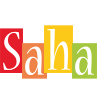 Saha colors logo