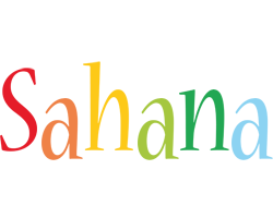 Sahana birthday logo