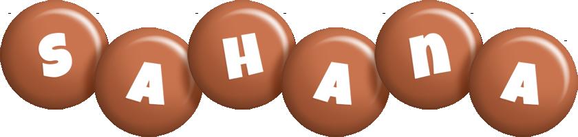 Sahana candy-brown logo