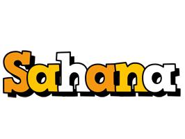 Sahana cartoon logo