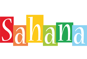 Sahana colors logo