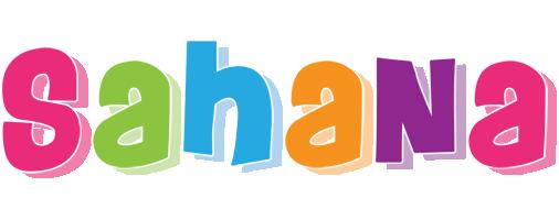 Sahana friday logo