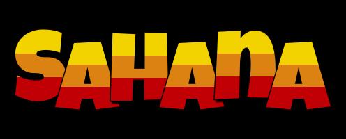 Sahana jungle logo