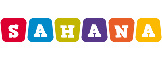 Sahana kiddo logo