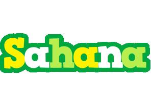 Sahana soccer logo