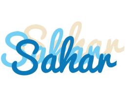 Sahar breeze logo