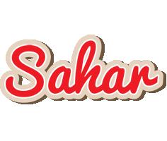 Sahar chocolate logo