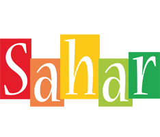 Sahar colors logo